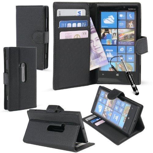 1 opinioni per MadCase? Nokia Lumia 920 Premium PU Leather Wallet Credit Card Smartphone Case
