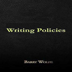 Writing Policies Audiobook