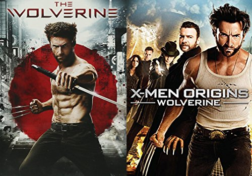 The Wolverine & Wolverine: Origins X-Men Hugh Jackman 2-DVD Bundle