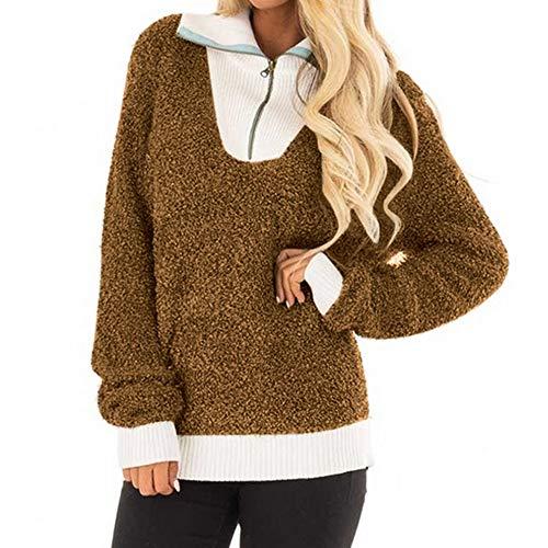Big Womens Hoodies Sweatshirts Womens Pullover Hoodie Sunmoot Long Sleeve Oversized Jumper with Pockets