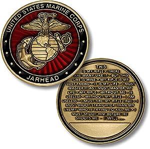 Marine Jarhead Challenge Coin…
