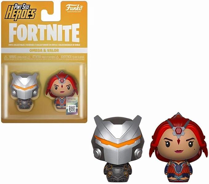 LAST LEVEL Size Pack 2 Pint Heroes FORTNITE Omega & Valor, Multicolor (1): Amazon.es: Juguetes y juegos