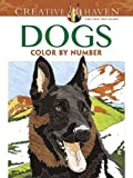 Dogs Color by Number Adult Coloring Book