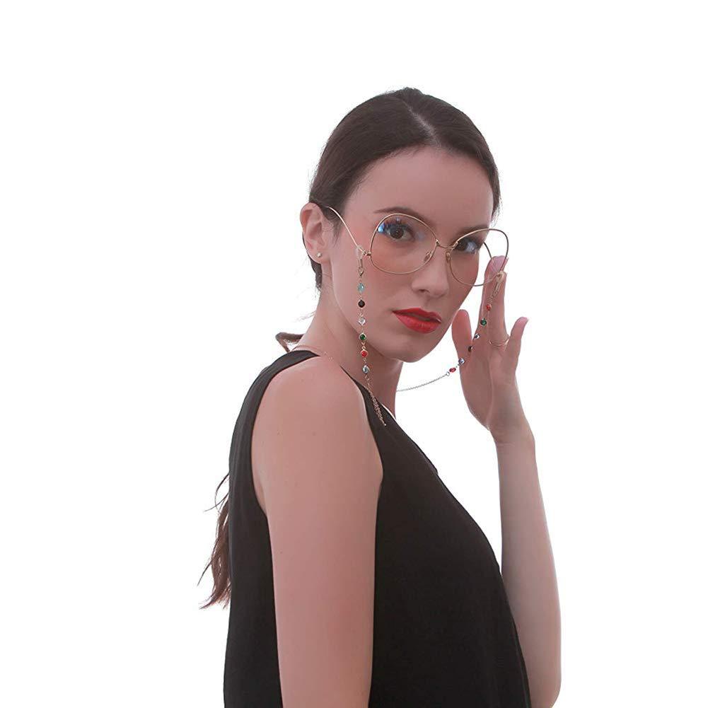 Moda Gemma Catene per Occhiali Occhiali Occhiali da Lettura Cordoncini Porta Occhiali Cordini per Cinturino