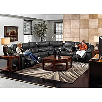 Catnapper Catalina Leather Reclining Sectional -  sc 1 st  Amazon.com : catnapper nolan sectional - Sectionals, Sofas & Couches