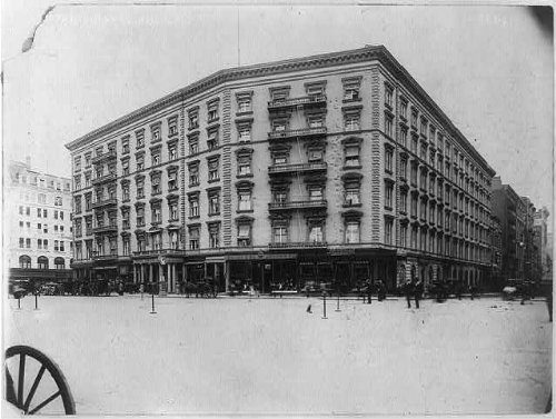 1920 Photo Fifth Avenue Hotel, New York, N.Y. Abandoned as Republican Headquarters - to be torn - Avenue New York Map 5th