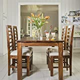 LifeEstyle LE-500041_A Six Seater Dining Table Set (Brown)