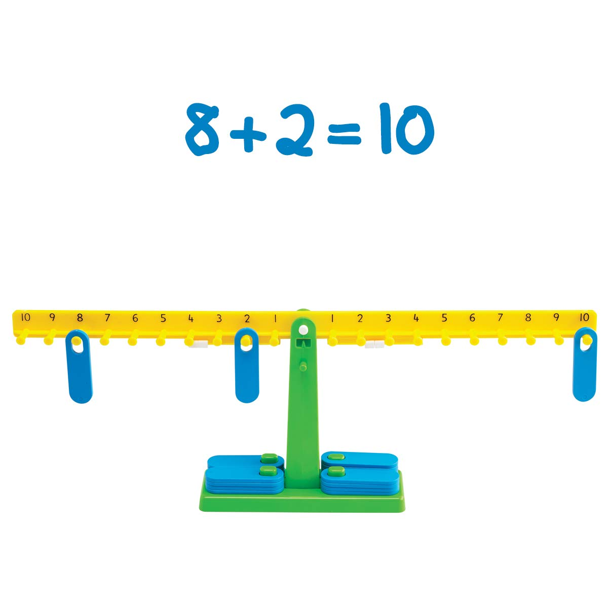 Edx Education Student Math Balance - Includes 20 Weights - Teach Early Math and Number Concepts - Beginner Addition, Subtraction and Equations