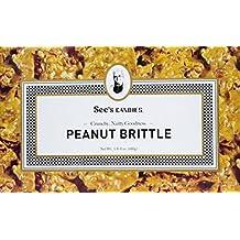 See's Candies 1.5 lbs. (680g) Peanut Brittle