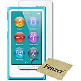 Fenzer Clear Screen Protector for Apple iPod Nano 7th Generation Transparent LCD Touch Screen Guard Shield w/ Cloth