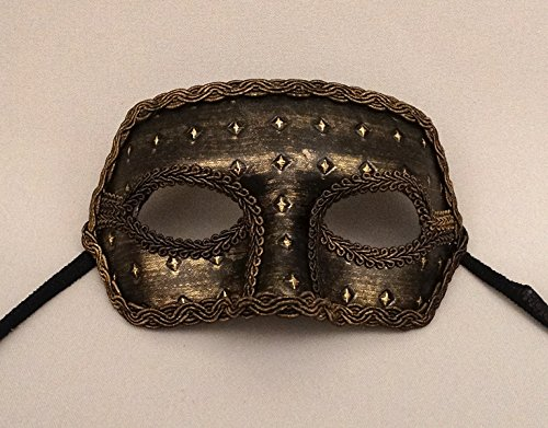Medieval Master Male Masquerade Mask ()