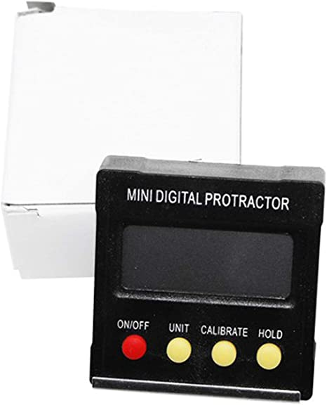 Calibre de Gancho, man/ómetro Buscador de /ángulos XuBa Mini Electronic Digital Level Box