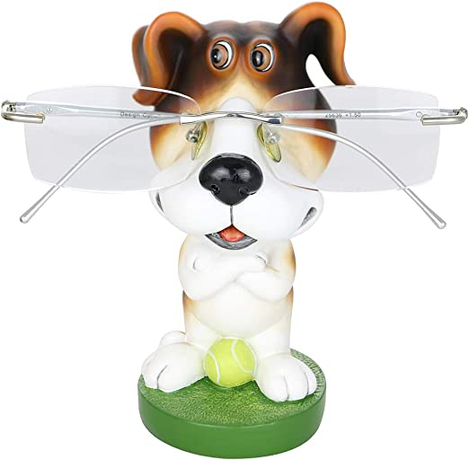 Wire Fox Terrier Porcelain Plate w// Display Stand Dog