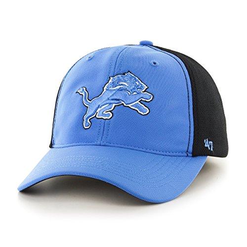 NFL Detroit Lions '47 Draft Day Closer Stretch Fit Hat, One Size, Blue Raz (Detroit Lions Nfl Draft)