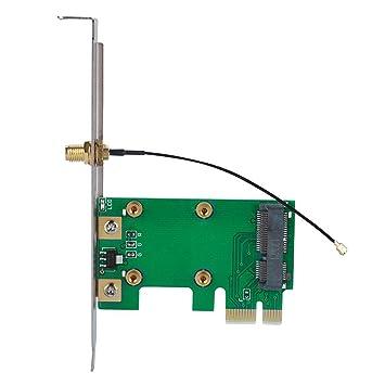 Diyeeni Mini PCI-E a PCI-E Tarjeta de Red Inalámbrica ...