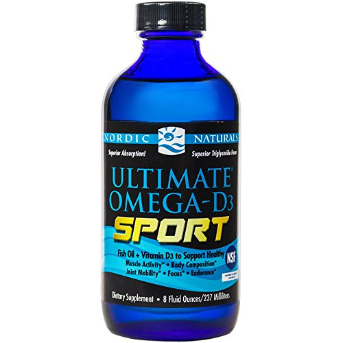 Nordic Naturals - Ultimate Omega-D3 Sport, Supports Healthy Bones and Immunity, 8 Ounces (FFP)