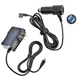 (Taelectric) Car Charger + AC/DC Adapter Power Supply Cord for Magellan Roadmate 6620-LM GPS
