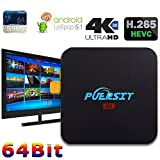 (US) Puersit Q2 Pro Android 5.1 Wifi TV Box with 16.0 Quad Core 1GB/8GB and 4K Smart Media Player