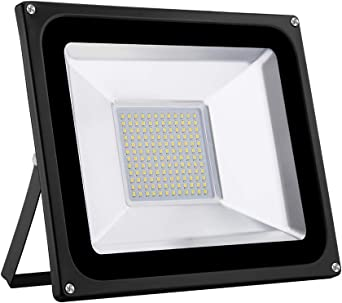 100W LED Foco proyector para exterior, LED Reflector industrial ...
