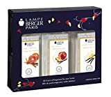 Lampe Berger Fragrance Trio Pack Warm, New Orleans-Orange Cinnamon-Vanilla Gourmet, 3 x 180ml/6.08 fl.oz.