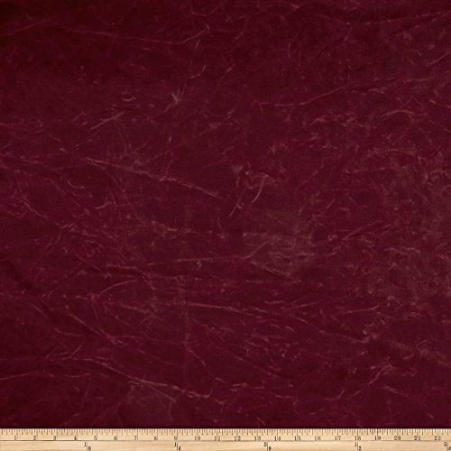 Carr Textile 13.7 oz Waxed Army Duck Canvas Fabric by The Yard, Burgundy