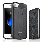 iPhone 8/7/6s/6 Battery Case, Shineam 4000mAh Detachable Charging Case for Apple iPhone (4.7 inch) with Rechargeable Battery and Full Edge Protection, Ultra Slim iPhone Charging Case