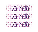 Back to School Labels Package - Personalized Name Labels - Dishwasher Safe Bottle Labels, Iron On, Laundry Care Tag Clothing Labels, and 2 Bag Tags