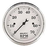 Auto Meter 1695 Old TYME White Electric Tachometer