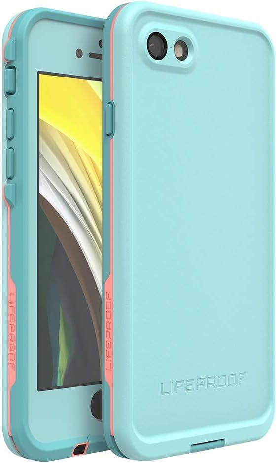 Lifeproof Frfre Series Wasserdichte Schutzhülle Für Iphone Se 2 Generation 2020 Und Iphone 8 7 Nicht Plus Einzelhandelsverpackung Abwischbar Blaue Tönung Fusion Koralle Mandalay Bay Elektronik