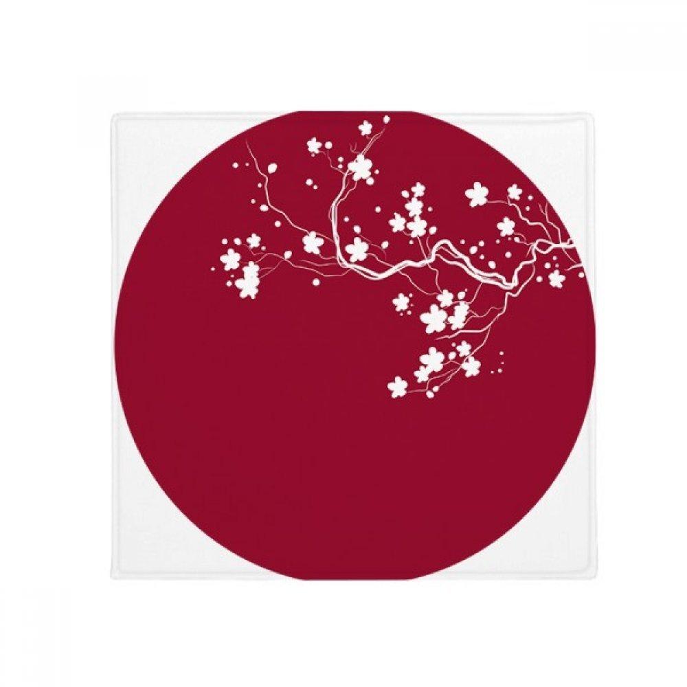 DIYthinker Art Round Illustration Japan Anti-Slip Floor Pet Mat Square Home Kitchen Door 80Cm Gift
