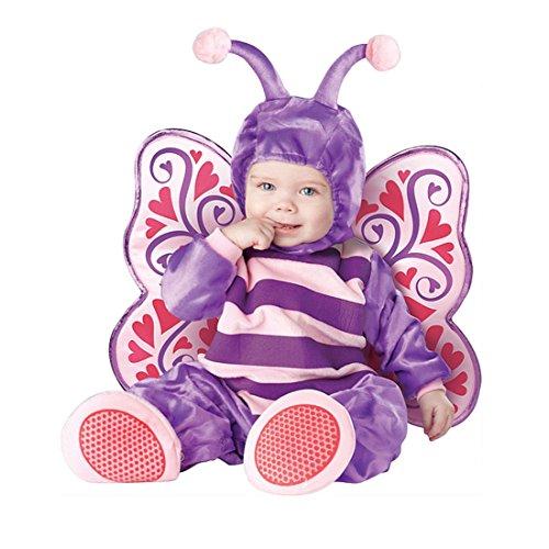 JTENGYAO Infant Boys Girls Animal Butterfly Costume Halloween Christmas Pajamas Cosplay Costume(7-9 Months) ()