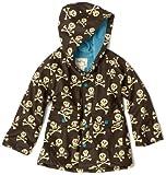 Hatley Little Boys' Skull Rain Coat