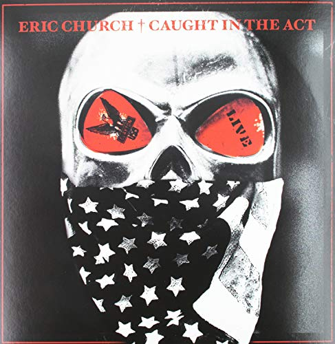 Caught In The Act: Live [2 LP][Blue Vinyl] (Eric Church Caught In The Act Vinyl)