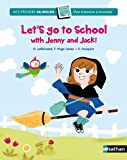 """Afficher """"Let's go to school with Jenny and Jack !"""""""