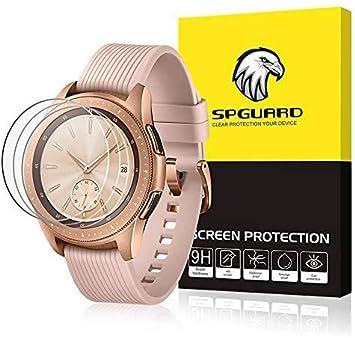 Circle - Protector de pantalla para Samsung Galaxy Watch 42mm(3 unidades) para Samsung Galaxy Watch 42mm: Amazon.es: Electrónica