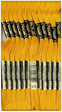 DMC 6-Strand Embroidery Cotton 8.7yd-Black Brown Set Of 12