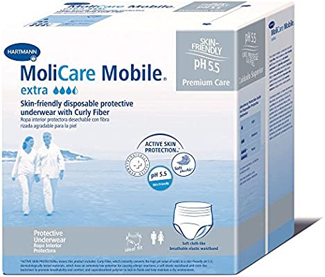Amazon.com: MoliCare Mobile Underwear, Extra, Large, Pack/14: Health & Personal Care