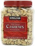 Kirkland Signature IAqPRg Cashews, 40 Ounce (5 Pack)