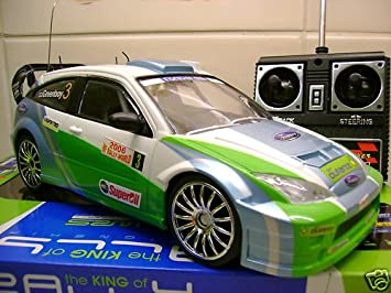 Ford Focus Wrc Remote Control Car Racing Rally Style Amazon Co Uk