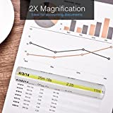 MagniPros 2X Magnifying Bar Magnifier Ruler with