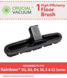 Replacement for Rainbow 10 Inch Wide Floor Brush Fits D2, D3, D4,...