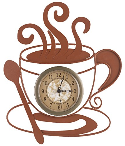 Miles Kimball Metal Coffee Clock