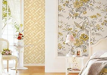 Vliestapete Country Style Vogel Tapete Blumen Tapete Wohnzimmer  Schlafzimmer DIY Main Material Blumen Und Vögel Druck