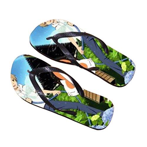 Bromeo Natsume Yuujinchou Anime Unisex Flip Flops Chanclas 742