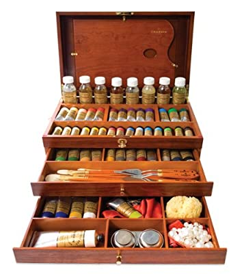 Charvin Extra Fine Oil Color Deluxe Oil Painting Set Assorted