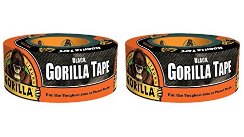 Gorilla 6001203 2 Duct Tape Black