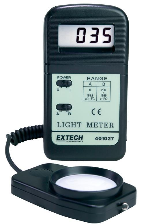 extech 401025 foot candle lux light meter. Black Bedroom Furniture Sets. Home Design Ideas