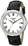 Tissot Men's T0854101601300 Carson Analog Display Swiss Quartz Black Watch