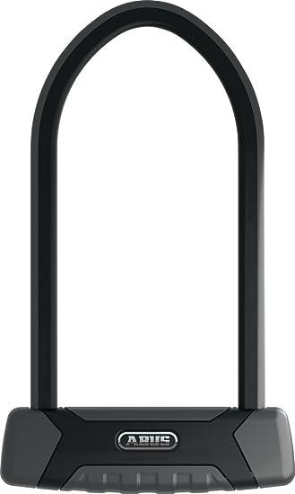 Standard Black ABUS Fahrradschloss 540 Granit X-Plus B/ügelschloss Padlock
