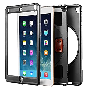 New Trent iPad Case 2018/2017, Heavy Duty Gladius Full-body Rugged Protective Case with Built-in Screen Protector & Dual Layer Design for Apple iPad 9.7 inch 2017/2018